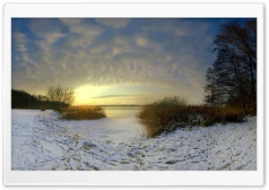 Frozen Lake HD Wide Wallpaper for Widescreen