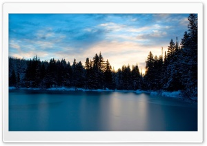 Frozen Lake HD Wide Wallpaper for 4K UHD Widescreen desktop & smartphone