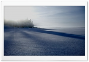 Frozen Lake, Winter HD Wide Wallpaper for Widescreen