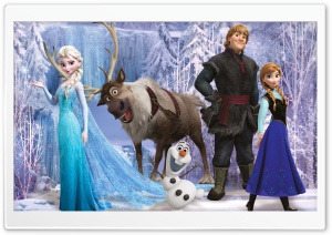 Frozen Movie 2014 Winter HD Wide Wallpaper for 4K UHD Widescreen desktop & smartphone