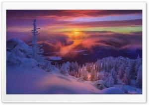 Frozen Winter Landscape Ultra HD Wallpaper for 4K UHD Widescreen desktop, tablet & smartphone