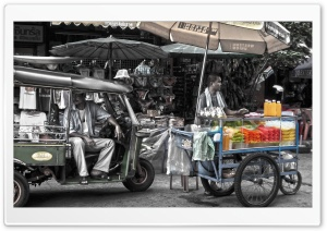 Fruit Cart HD Wide Wallpaper for Widescreen
