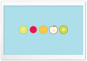 Fruit Slice HD Wide Wallpaper for Widescreen