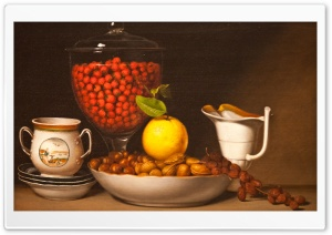 Fruits And Nuts HD Wide Wallpaper for Widescreen