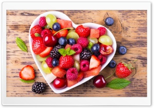 Fruits Salad HD Wide Wallpaper for Widescreen