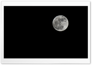 Full Moon HD Wide Wallpaper for Widescreen