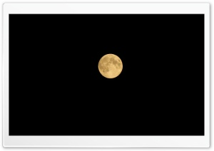 Full Moon distanced HD Wide Wallpaper for Widescreen
