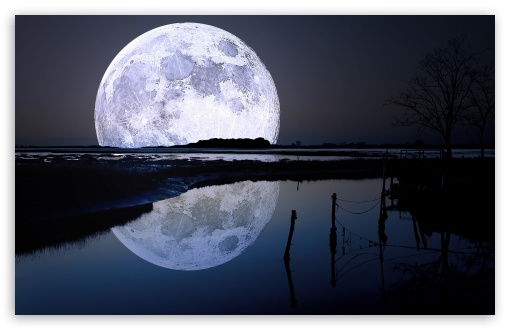 Full Moon Reflection HD wallpaper for Wide 16:10 5:3 Widescreen WHXGA WQXGA WUXGA WXGA WGA ; HD 16:9 High Definition WQHD QWXGA 1080p 900p 720p QHD nHD ; Standard 4:3 5:4 3:2 Fullscreen UXGA XGA SVGA QSXGA SXGA DVGA HVGA HQVGA devices ( Apple PowerBook G4 iPhone 4 3G 3GS iPod Touch ) ; Tablet 1:1 ; iPad 1/2/Mini ; Mobile 4:3 5:3 3:2 16:9 5:4 - UXGA XGA SVGA WGA DVGA HVGA HQVGA devices ( Apple PowerBook G4 iPhone 4 3G 3GS iPod Touch ) WQHD QWXGA 1080p 900p 720p QHD nHD QSXGA SXGA ;