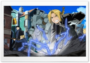 Fullmetal Alchemist HD HD Wide Wallpaper for Widescreen