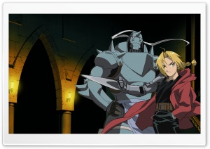 Fullmetal Alchemist Manga HD Wide Wallpaper for 4K UHD Widescreen desktop & smartphone