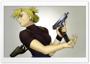 Fullmetal Alchemist Riza Hawkeye HD Wide Wallpaper for Widescreen
