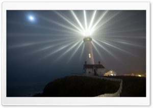 Functional Lighthouse HD Wide Wallpaper for Widescreen
