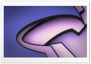 Funky Lines (Purple) HD Wide Wallpaper for Widescreen