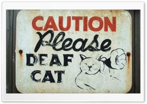 Funny Caution Sign Ultra HD Wallpaper for 4K UHD Widescreen desktop, tablet & smartphone
