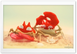 Funny Crabs HD Wide Wallpaper for Widescreen