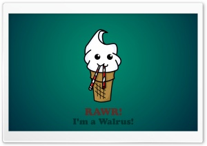 Funny Ice Cream HD Wide Wallpaper for Widescreen
