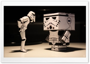 Funny Stormtrooper HD Wide Wallpaper for Widescreen