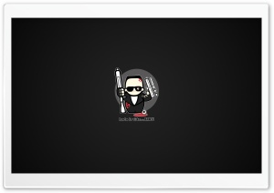 Funny Terminator Cartoon HD Wide Wallpaper for Widescreen