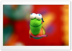 Funny Worm Toy HD Wide Wallpaper for Widescreen