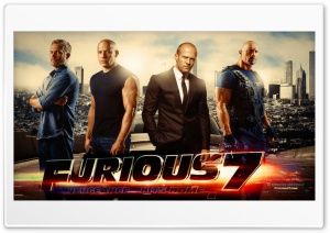 Furious 7 HD Wide Wallpaper for Widescreen