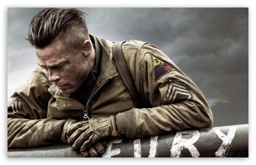 Brad Pitt Hd Wallpapers: Fury Brad Pitt 4K HD Desktop Wallpaper For 4K Ultra HD TV