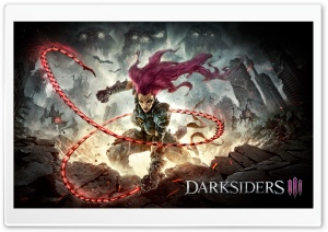 Fury DarkSiders III 3 HD Wide Wallpaper for Widescreen
