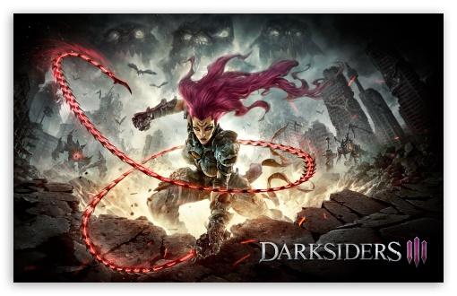 Fury darksiders iii 4k hd desktop wallpaper for 4k ultra - Darksiders 3 wallpaper ...