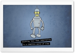 Futurama Bender HD Wide Wallpaper for Widescreen