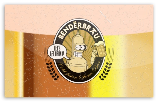 Futurama Bender   Benderbrau HD wallpaper for Wide 16:10 5:3 Widescreen WHXGA WQXGA WUXGA WXGA WGA ; HD 16:9 High Definition WQHD QWXGA 1080p 900p 720p QHD nHD ; Standard 4:3 5:4 3:2 Fullscreen UXGA XGA SVGA QSXGA SXGA DVGA HVGA HQVGA devices ( Apple PowerBook G4 iPhone 4 3G 3GS iPod Touch ) ; Tablet 1:1 ; iPad 1/2/Mini ; Mobile 4:3 5:3 3:2 16:9 5:4 - UXGA XGA SVGA WGA DVGA HVGA HQVGA devices ( Apple PowerBook G4 iPhone 4 3G 3GS iPod Touch ) WQHD QWXGA 1080p 900p 720p QHD nHD QSXGA SXGA ;