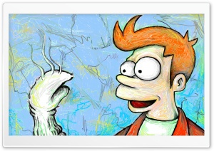 Futurama Fry HD Wide Wallpaper for Widescreen