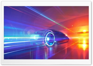 Futuristic Car Ultra HD Wallpaper for 4K UHD Widescreen desktop, tablet & smartphone