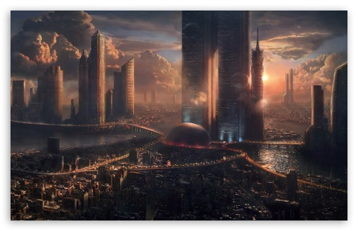 Futuristic Cityscape HD wallpaper for Wide 16:10 5:3 Widescreen WHXGA WQXGA WUXGA WXGA WGA ; HD 16:9 High Definition WQHD QWXGA 1080p 900p 720p QHD nHD ; Standard 4:3 5:4 3:2 Fullscreen UXGA XGA SVGA QSXGA SXGA DVGA HVGA HQVGA devices ( Apple PowerBook G4 iPhone 4 3G 3GS iPod Touch ) ; Tablet 1:1 ; iPad 1/2/Mini ; Mobile 4:3 5:3 3:2 16:9 5:4 - UXGA XGA SVGA WGA DVGA HVGA HQVGA devices ( Apple PowerBook G4 iPhone 4 3G 3GS iPod Touch ) WQHD QWXGA 1080p 900p 720p QHD nHD QSXGA SXGA ; Dual 16:10 5:3 16:9 4:3 5:4 WHXGA WQXGA WUXGA WXGA WGA WQHD QWXGA 1080p 900p 720p QHD nHD UXGA XGA SVGA QSXGA SXGA ;