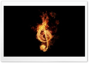 G Clef HD Wide Wallpaper for Widescreen