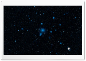 Galaxy Cluster HD Wide Wallpaper for Widescreen
