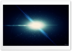 Galaxy Explosion HD Wide Wallpaper for Widescreen