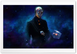 Galaxy Man HD Wide Wallpaper for Widescreen