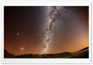 Galaxy View From Earth HD Wide Wallpaper for 4K UHD Widescreen desktop & smartphone