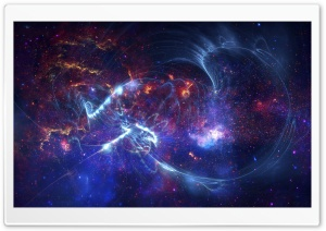 Galaxy Waves HD Wide Wallpaper for Widescreen