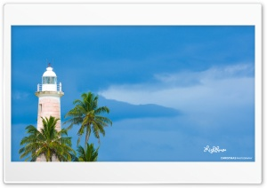 Galle Lighthouse HD Wide Wallpaper for Widescreen