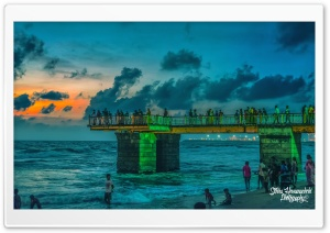 Galleface Green - Sri Lanka HD Wide Wallpaper for Widescreen