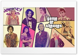 Game Of Thrones - Grand Theft...