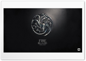 Game of Thrones Fire and Blood Targaryen HD Wide Wallpaper for Widescreen
