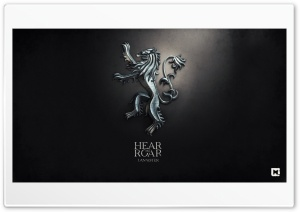 Game of Thrones Hear me Roar Lannister HD Wide Wallpaper for Widescreen