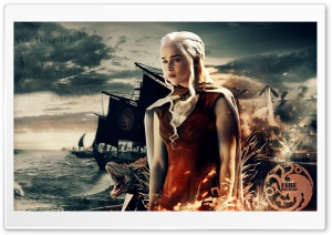 Game of Thrones Khaleesi HD Wide Wallpaper for 4K UHD Widescreen desktop & smartphone
