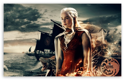 Game Of Thrones Khaleesi 4k Hd Desktop Wallpaper For Wide