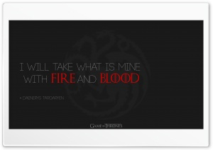 Game of Thrones Quote HD Wide Wallpaper for Widescreen