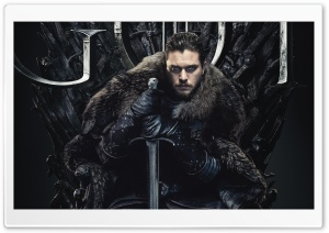 Game of Thrones Season 8 2019 Jon Snow - Kit Harington HD Wide Wallpaper for 4K UHD Widescreen desktop & smartphone