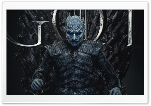 Game of Thrones Season 8 2019 Night King - Vladimir Furdik Ultra HD Wallpaper for 4K UHD Widescreen desktop, tablet & smartphone