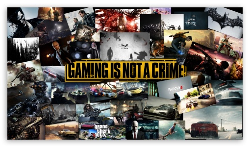 Gameing Is Not A Crime ❤ 4K UHD Wallpaper for 4K UHD 16:9 Ultra High Definition 2160p 1440p 1080p 900p 720p ; UHD 16:9 2160p 1440p 1080p 900p 720p ;