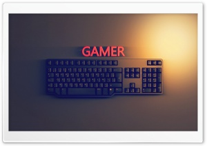 Gamer HD Wide Wallpaper for Widescreen